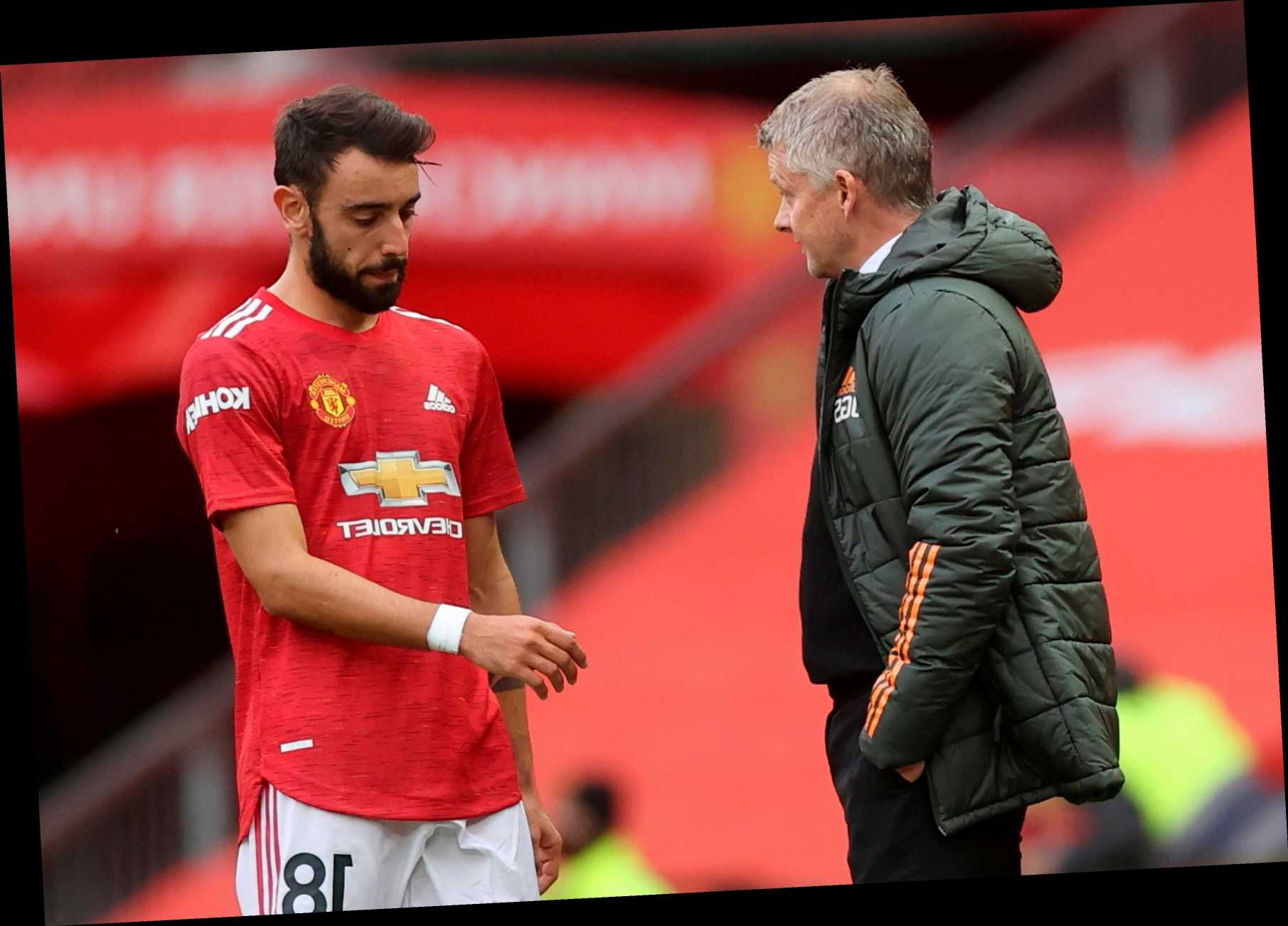 Man Utd boss Ole Gunnar Solskjaer says more of his players need to step up… not just Bruno Fernandes