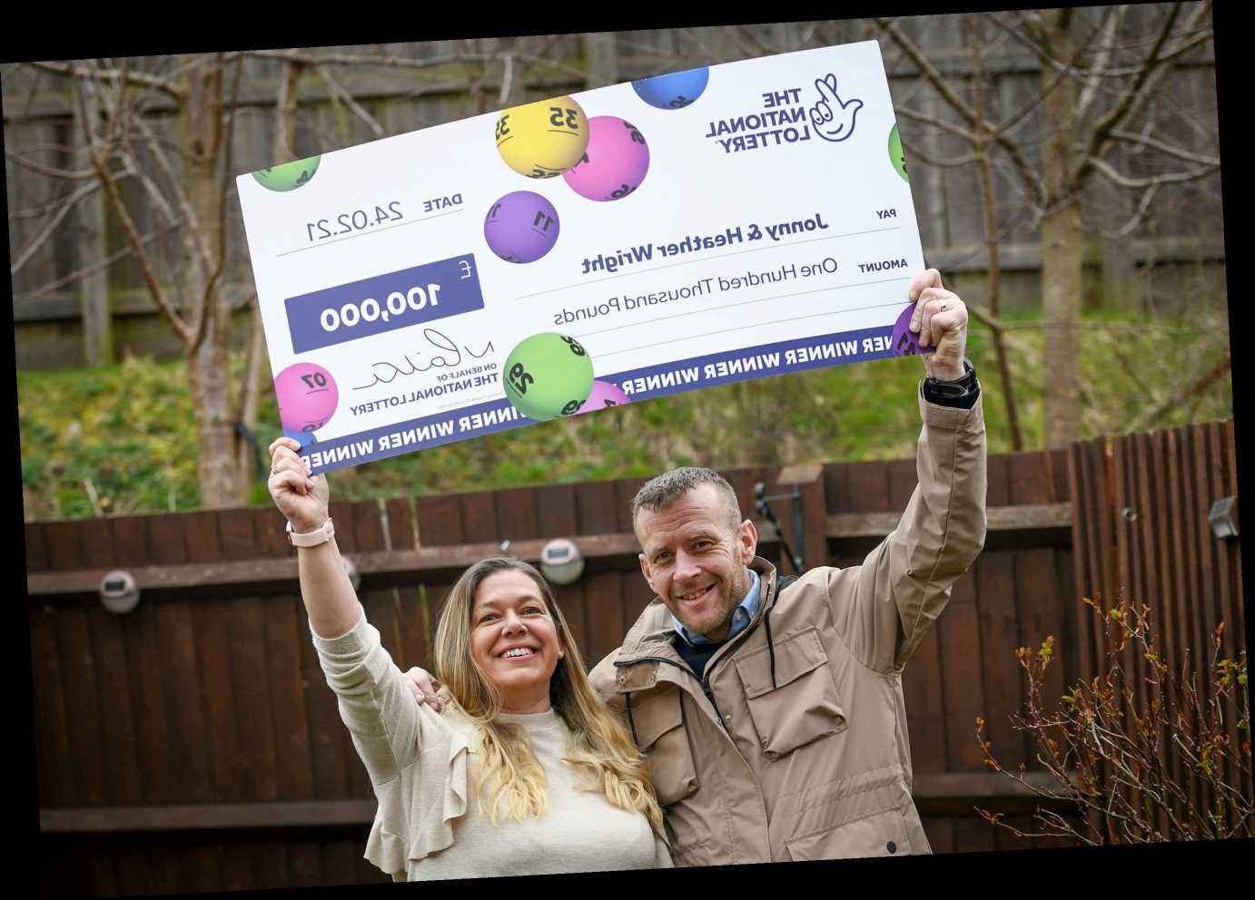 Furloughed barman scoops £100k on a £2 National Lottery scratchcard after tough year