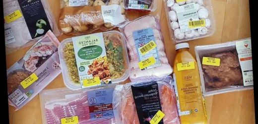 Savvy mum who saved £2k a year by getting EVERYTHING from Marks & Spencer shares how you can cut your food bill too