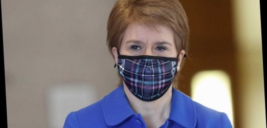 Scotland gets hair cuts, travel & big weddings BEFORE England as Sturgeon brings forward road map piling pressure on PM