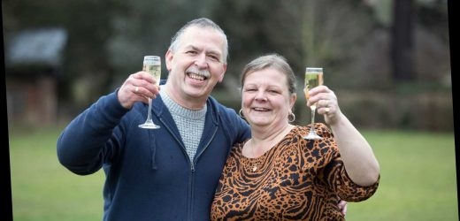 School dinner lady vows to carry on working after £1million Mother's Day Lottery win