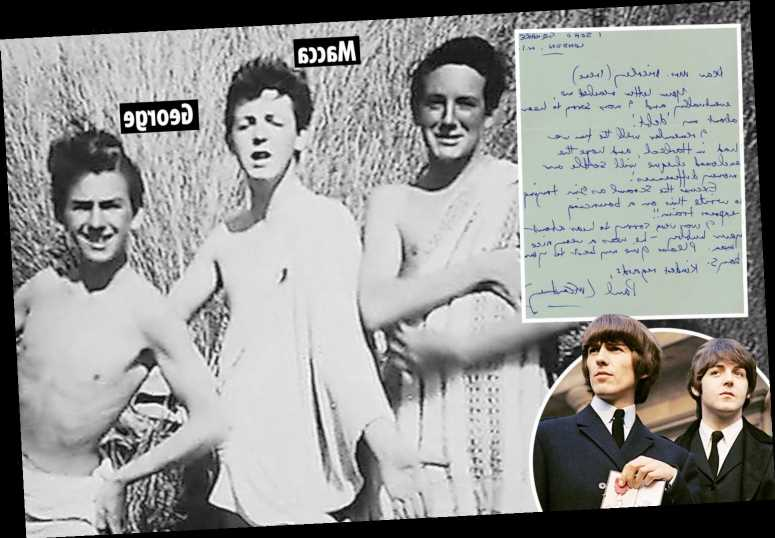 Paul McCartney letter settling long-standing 'debt' from before he achieved fame with The Beatles to be auctioned