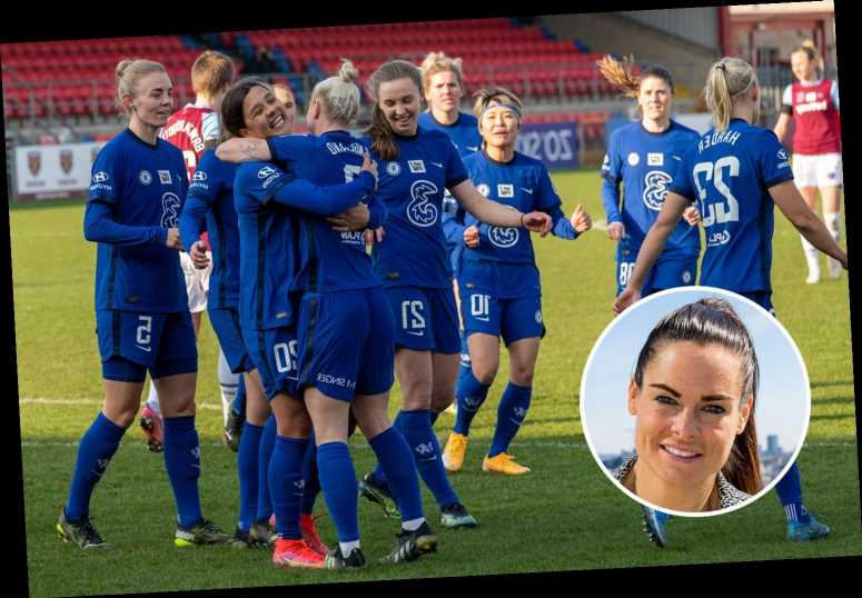 Ex-Chelsea star Claire Rafferty reckons it's 'best time' for Blues to lift Champions League trophy
