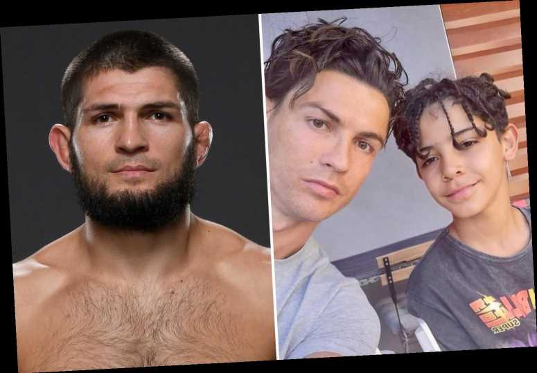 Cristiano Ronaldo talks to UFC star Khabib 'almost every day' and told him he fears his son won't have his 'hunger'