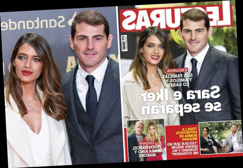 Real Madrid icon Casillas and wife Sara 'split' after 12 years having endured heart attack and cancer battle together