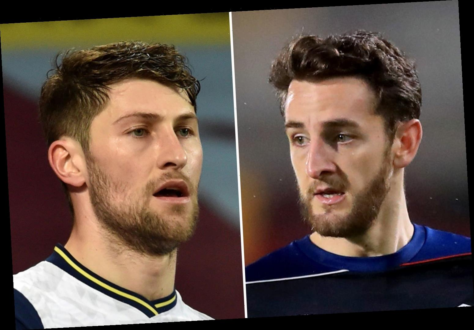 Wales suffer double injury blow with Ben Davies and Tom Lockyer ruled out of Belgium clash in World Cup qualifier