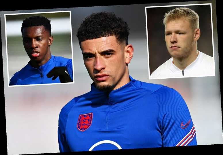 Ben Godfrey, Eddie Nketiah, Tom Davies and Aaron Ramsdale are England Under-21s leadership group aiming for Euro glory