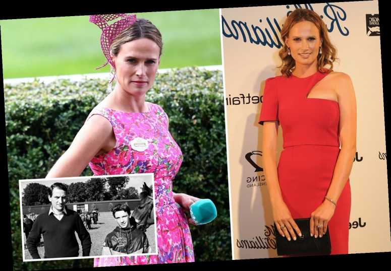 Stunning ITV Racing star Francesca Cumani swooned over Frankie Dettori growing up and is a self-confessed 'nerd'