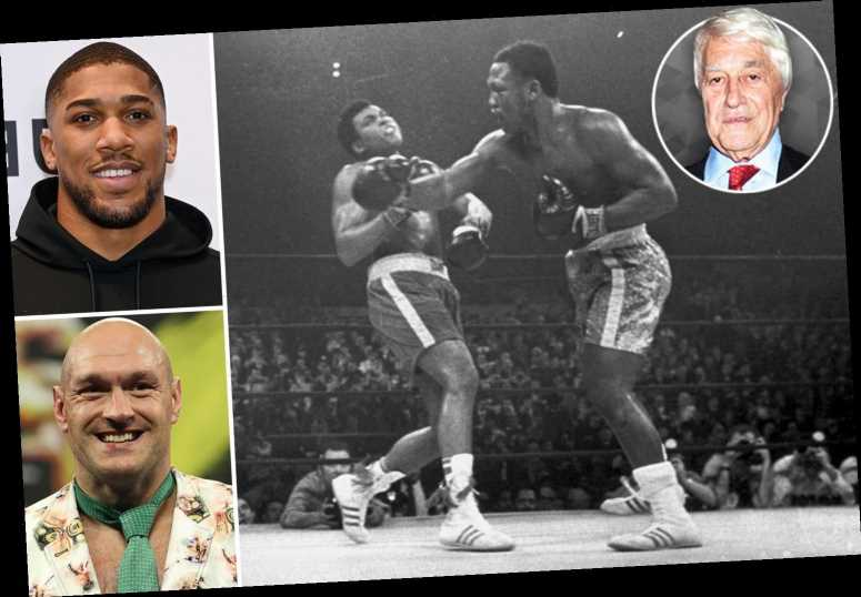 Tyson Fury would have had a chance against Muhammad Ali and Joe Frazier… but Anthony Joshua would lose to BOTH