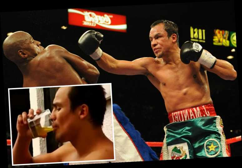 Floyd Mayweather's former opponent Juan Miguel Marquez reveals he drank his OWN URINE before fight in 2009