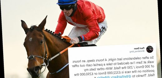Punter guaranteed at least £250,000 off just £5 bet but could bag £322,000 if Envoi Allen wins at Cheltenham Festival