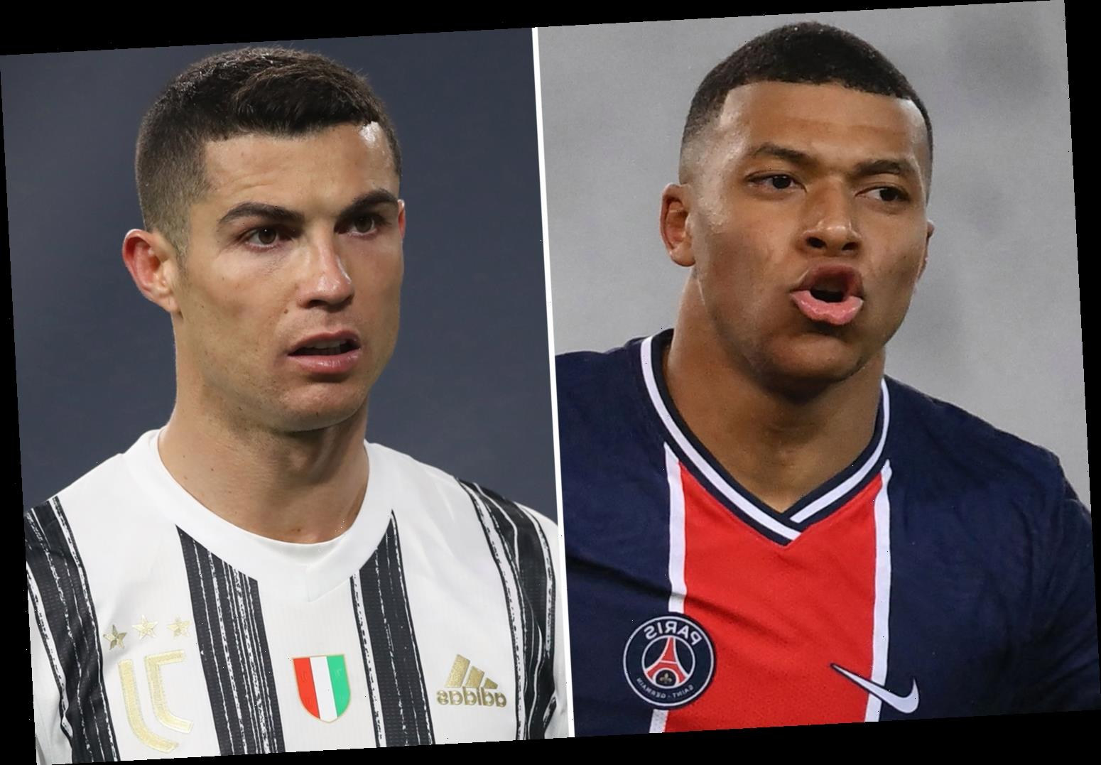 Cristiano Ronaldo wanted by PSG as French giants reignite transfer interest with Kylian Mbappe's future in doubt