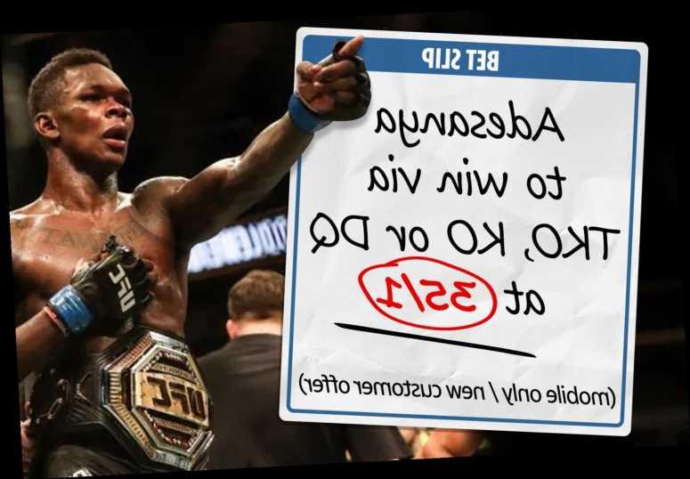 Get Adesanya at 35/1 odds to win via TKO, KO or DQ at UFC 259