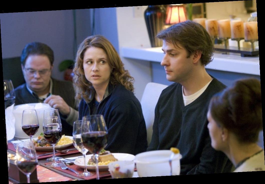 'The Office': John Krasinski Was Surprised in This Awkward Dinner Party Scene