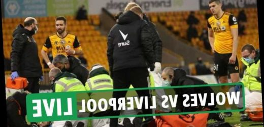 Wolves 0 Liverpool 1 LIVE SCORE: Rui Patricio stretchered off after Coady collision – Premier League latest updates