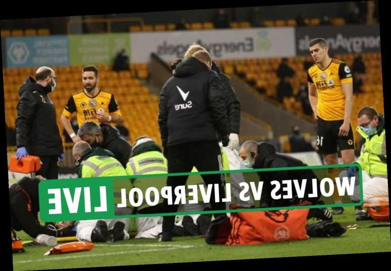 Wolves 0 Liverpool 1 LIVE SCORE: Rui Patricio stretchered off after Coady collision – Premier League latest updates