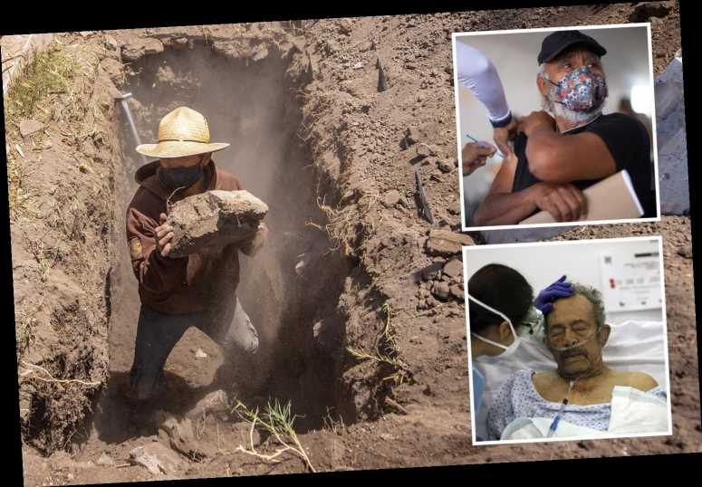 Mexico admits real Covid death toll is 60% higher at over 321,000 as country ravaged by second wave 'worse than Brazil'