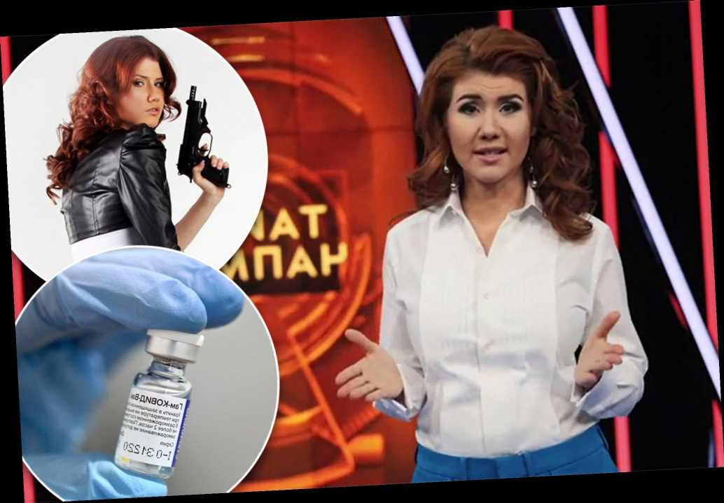Spy-turned-TV host Anna Chapman urges Russians to get vaccinated