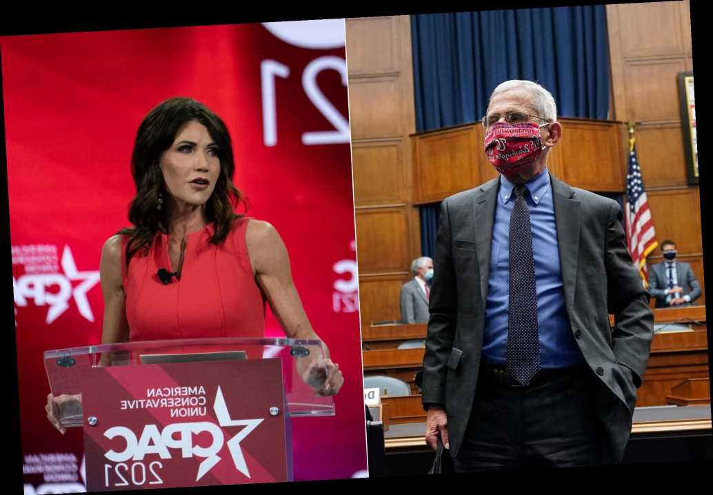 Fauci tells South Dakota governor to 'look at the numbers' after CPAC insult