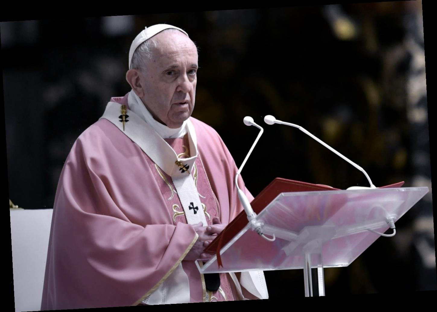Pope Francis: Catholic priests can't bless 'illicit, sinful' gay marriages