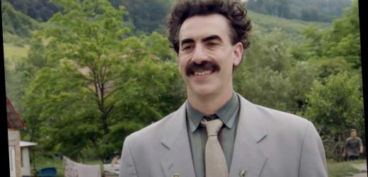 Sacha Baron Cohen Jokes About Donald Trump Contesting 'Borat' Golden Globe Wins