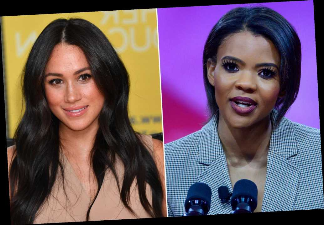 Candace Owens calls Meghan Markle 'leftist narcissist' over racism claims