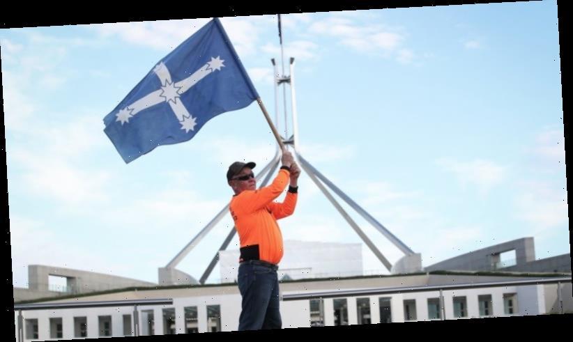 Building watchdog spends almost $500,000 challenging Eureka flag displays