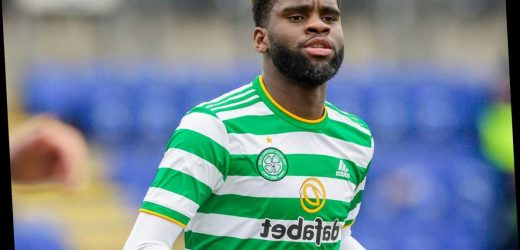 Arsenal transfer blow as Leicester 'close in on £15m Celtic striker Odsonne Edouard to succeed Jamie Vardy'