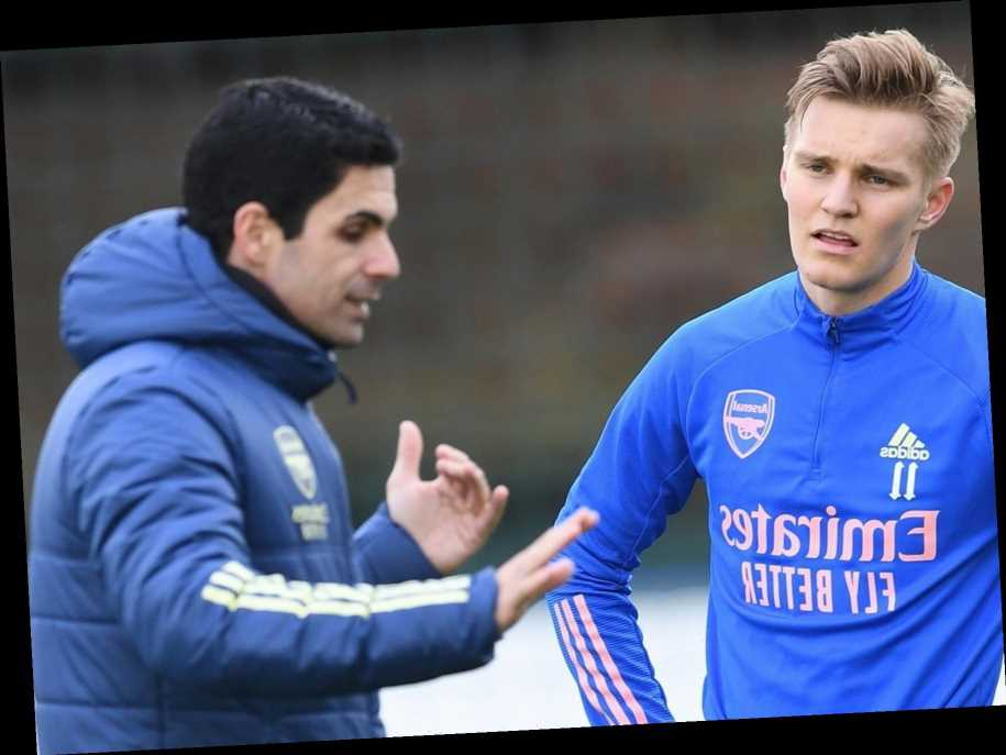 Arsenal star Martin Odegaard reveals 'huge expectations' and predicts club will be back at top under 'top coach' Arteta