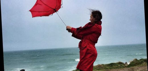 Weather forecast UK today – Cloudy day ahead with heavy rain and gales battering London and rest of Britain later