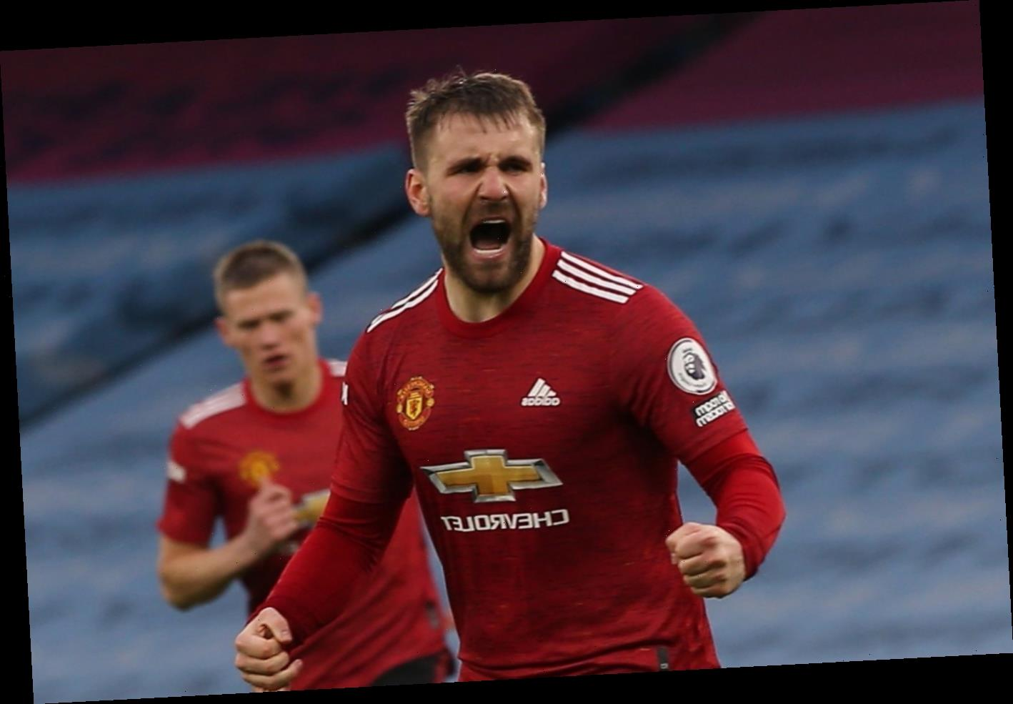 Man Utd to open contract talks with Luke Shaw after forgotten star turns career around and earns England recall
