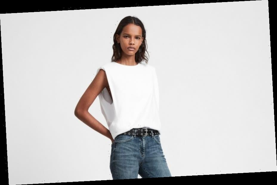 All Saints launches SizeMe jeans designed to fit three sizes at once and they're the perfect if you're in-between sizes