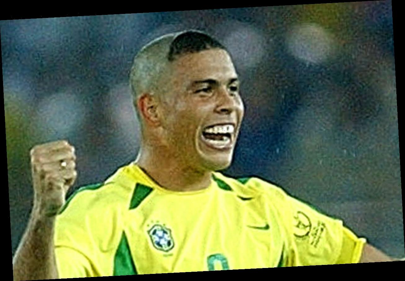 Brazil legend Ronaldo Nazario apologises to MUMS for 'horrible' 2002 World Cup hair… after kids copied the iconic cut