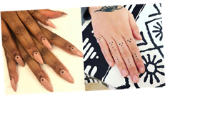 Dotted Finger Tattoos Are the Subtle Design You'll Have to Look Super Closely to See