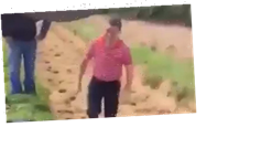 Sickening video showing jockey 'laughing while jokingly riding dead horse' investigated just hours after Gordon Elliott
