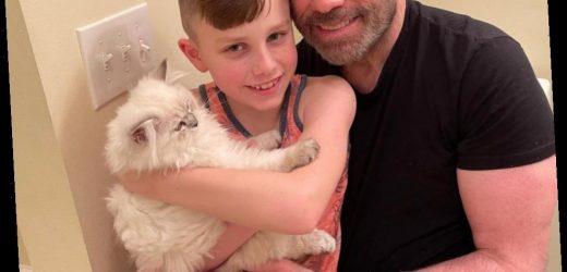 Meet Crystal! John Travolta Shares Adorable Photo of Son Ben's New Cat