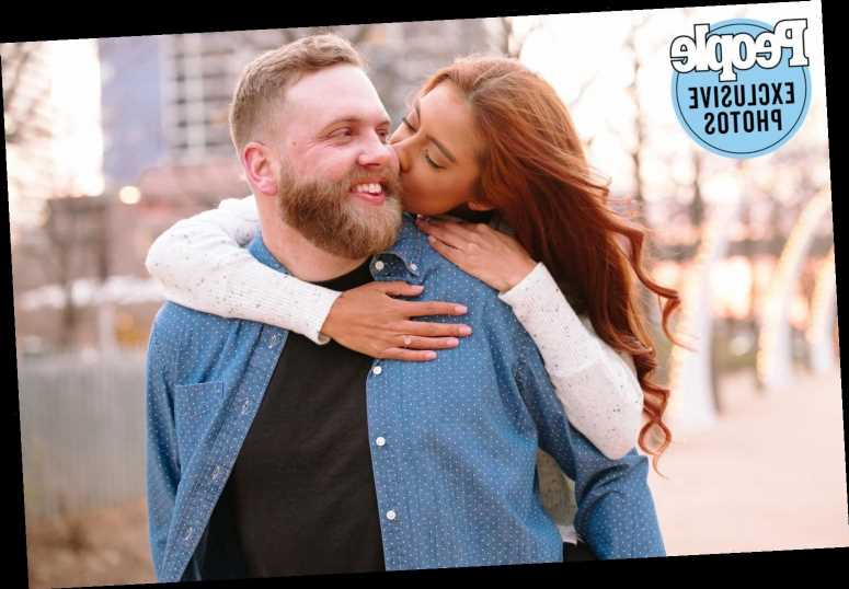 90 Day Fiancé's Tim Clarkson and Melyza Zeta Are Engaged: 'Best Moment of My Life'