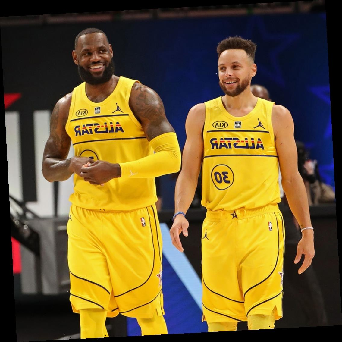 LeBron James and Stephen Curry Praise Each Other After Playing on the Same Team for the First Time