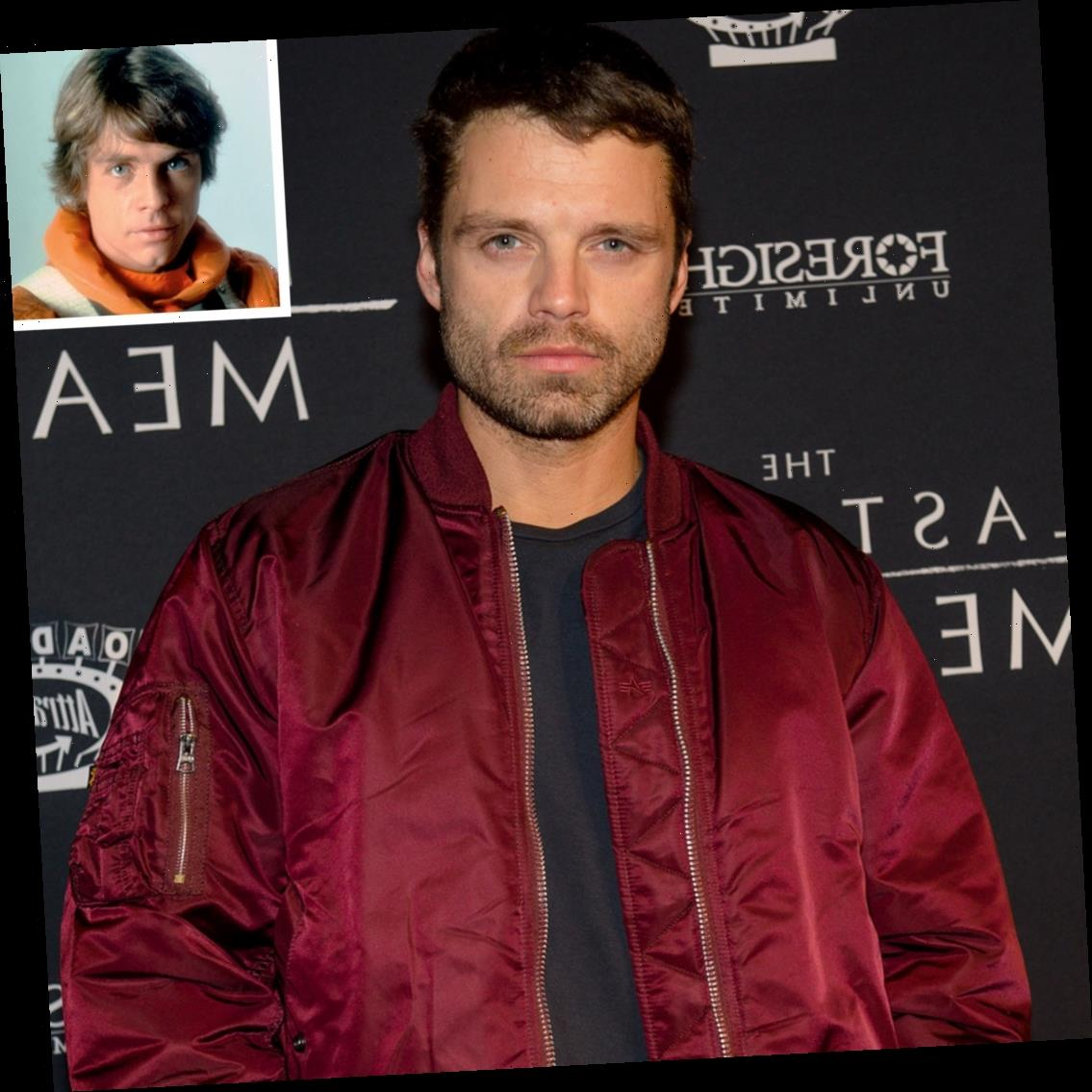 Sebastian Stan Won't Play Luke Skywalker Unless Mark Hamill 'Personally' Calls Him to Approve