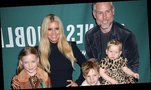 Jessica Simpson's 3 Kids All Look Just Like Her In Sweet Family Snap From Birdie's 2nd Birthday