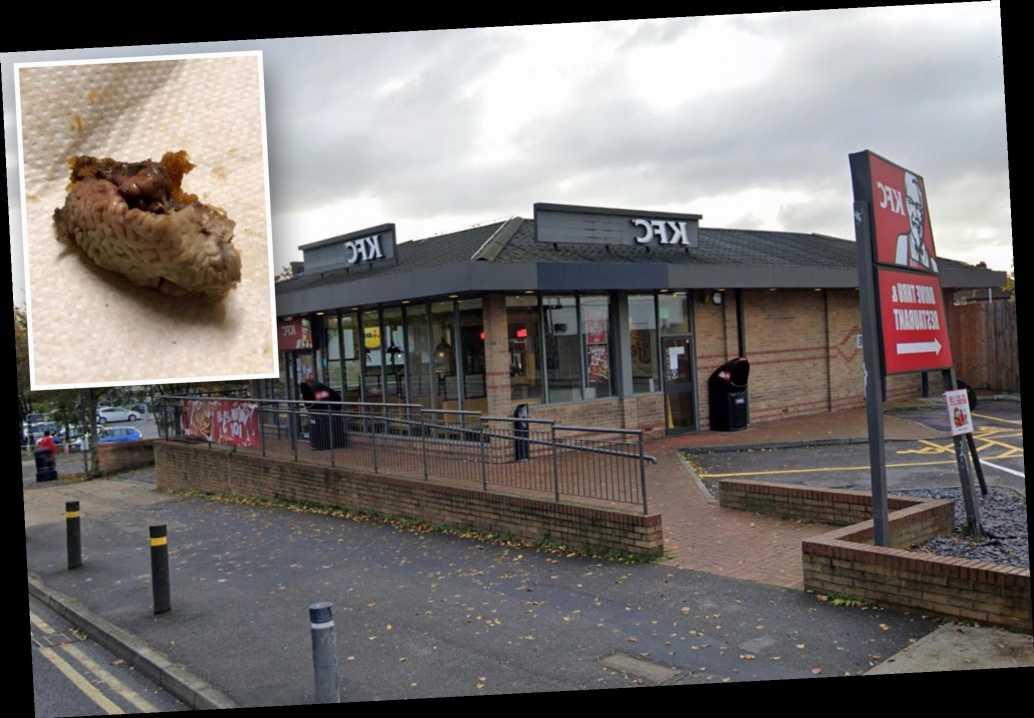 Disgusted UK mom finds 'chicken brain' in KFC bucket