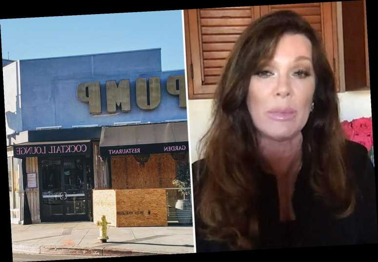 Lisa Vanderpump admits her life has been 'pretty dark and stressful' after restaurant Pump suspended for 'tax problems'