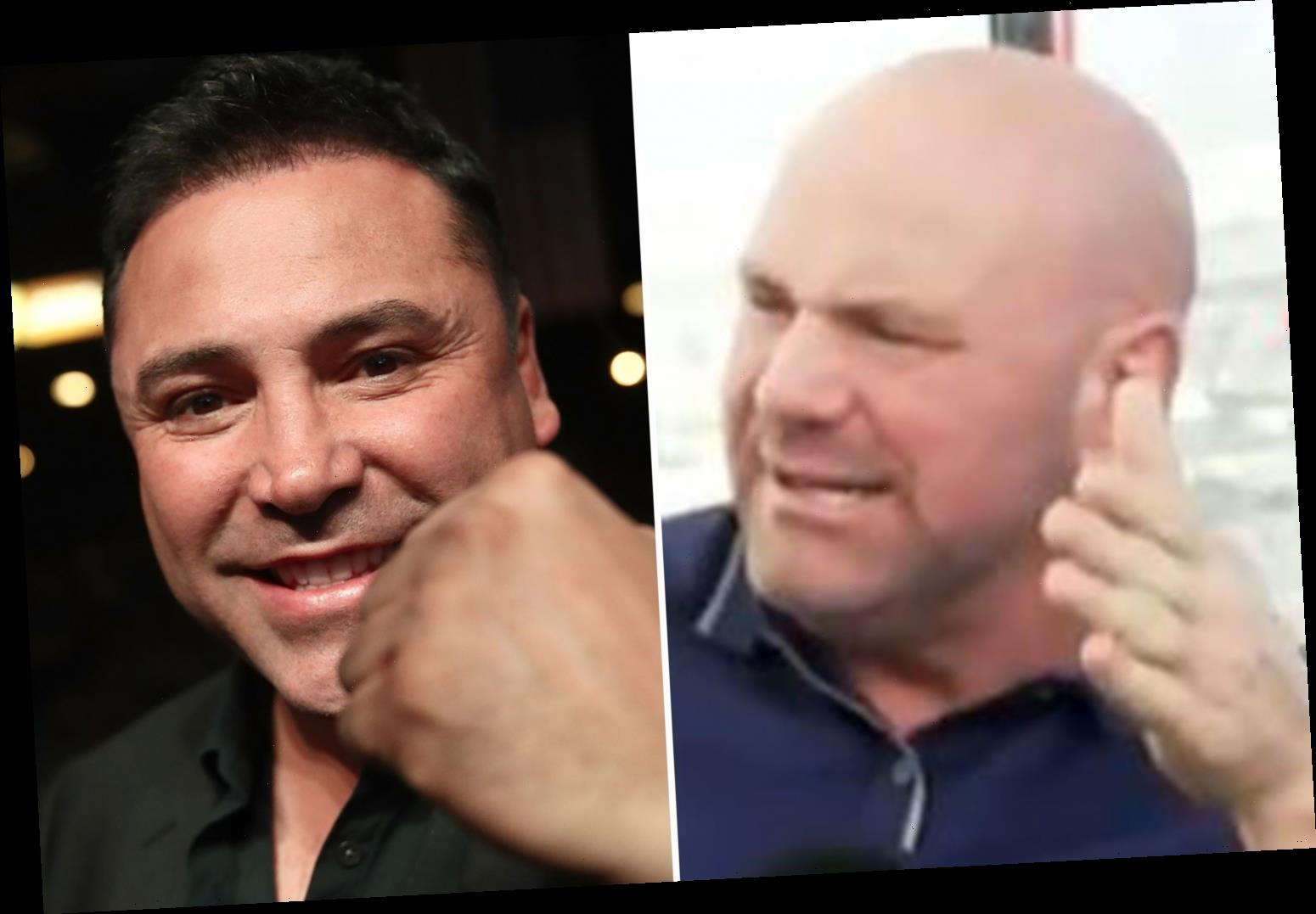 Dana White says 'this s*** is getting silly' amid Oscar De La Hoya comeback and rules out UFC star facing boxing legend