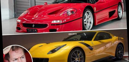 Sebastian Vettel insists he did NOT flog his Ferrari supercar collection for £5m because he was axed by team