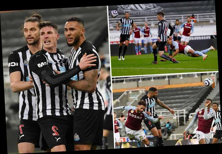 Newcastle 1 Aston Villa 1: Lascelles rescues point at death but Toon could still drop into relegation zone this weekend