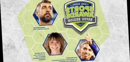 Aaron Rodgers, Alex Morgan to be among Bayou Region High School Sports Awards announcers