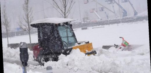 Wyoming, Colorado, Nebraska dig out from powerful snowstorm