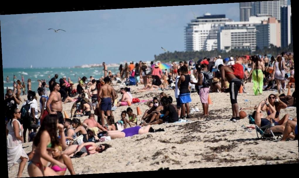 College students celebrating spring break despite continuation of COVID-19 pandemic