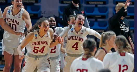 Indiana gets a balanced performance to beat Belmont.