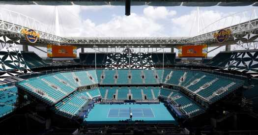 A Big Tennis Tournament Is About to Happen in Miami. Really.